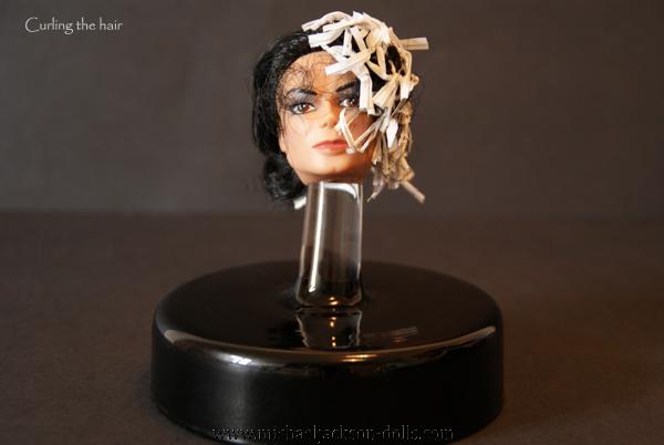 9 Michael Jackson head curling hair
