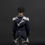 Jackson 5 doll blue jacket back side close up