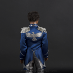 Jackson 5 doll light blue jacket back side close up