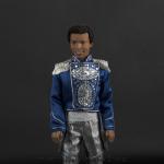 Jackson 5 doll light blue jacket close up