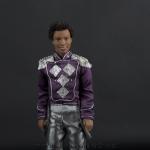 Jackson 5 doll purple jacket close up