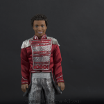 Jackson 5 doll red jacket close up