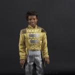 Jackson 5 doll yellow jacket close up