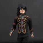 Michael Jackson Flame jacket close up