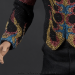 Michael Jackson Flame jacket detail
