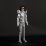 Michael Jackson This is It silver crystal suit