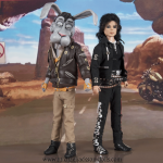 Michael Jackson and Spike doll Speed Demon