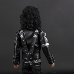 Michael Jackson doll BAD back side close up
