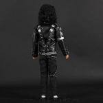 Michael Jackson doll BAD backside