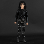 Michael Jackson doll BAD tour black outfit