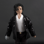 Michael Jackson doll Billy Jean close up