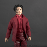 Michael Jackson doll Blood on the Dancefloor red outfit close up1