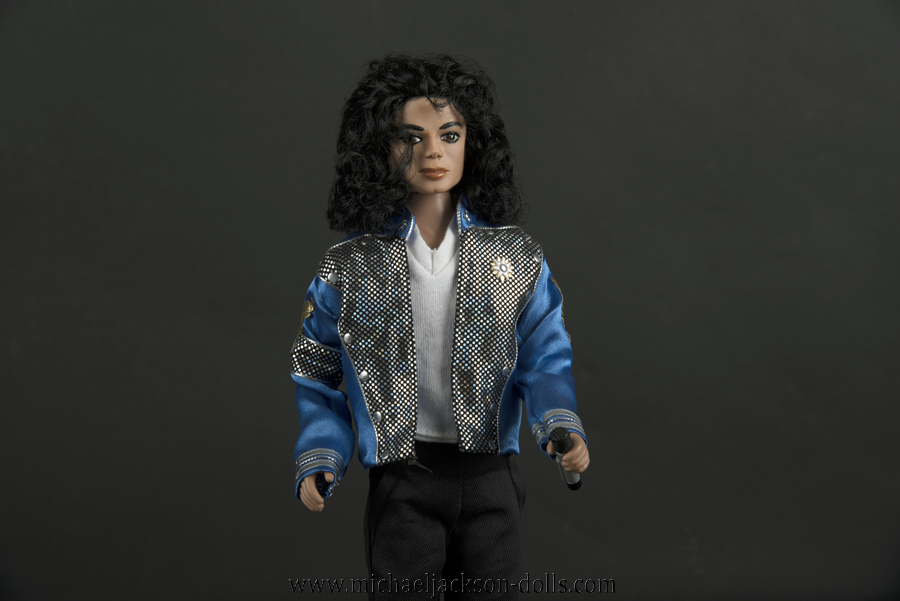 Michael Jackson doll Blood on the Dancefloor stage outfit close up