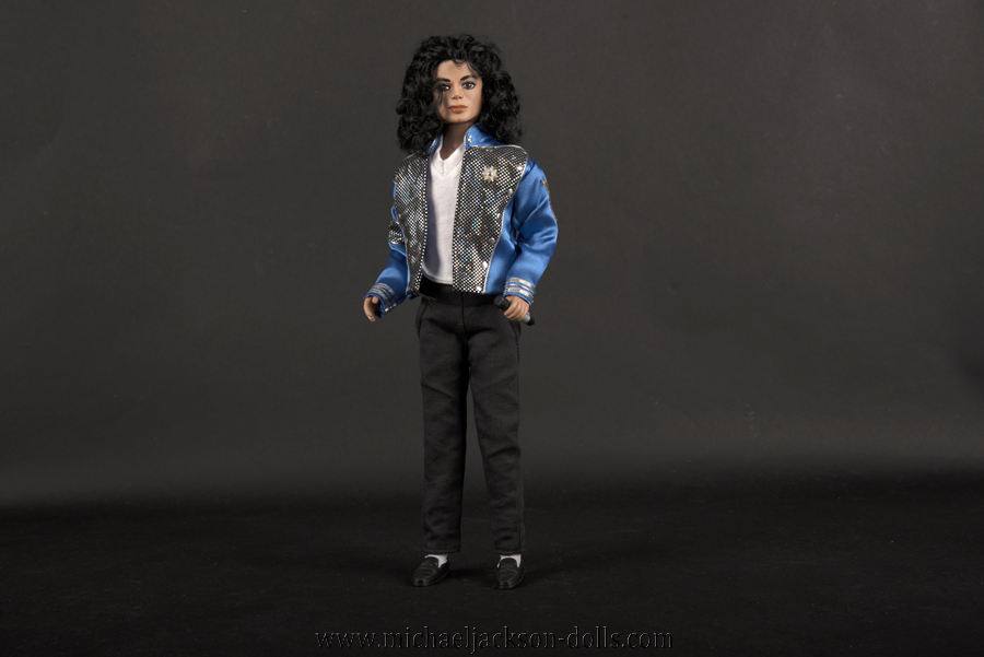 Michael Jackson doll Blood on the Dancefloor stage outfit