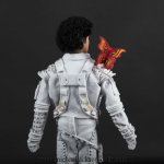 Michael Jackson doll Captain EO close up back