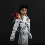 Michael Jackson doll Captain EO close up front