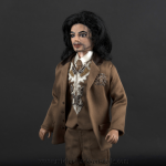 Michael Jackson doll Carousel of Hope Ball 2000 close up