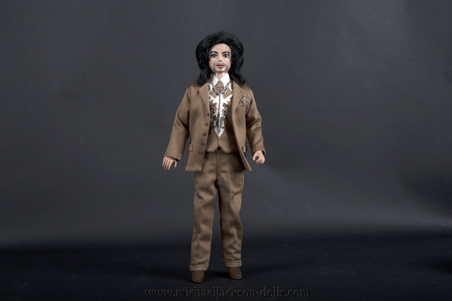 Michael Jackson doll Carousel of Hope ball outfit