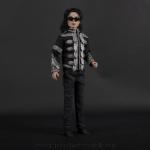 Michael Jackson doll Clinton jacket