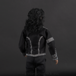 Michael Jackson doll Clinton jacket back side close up
