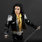 Michael Jackson doll Come Together close up