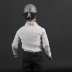 Michael Jackson doll Crystal helmet back side close up