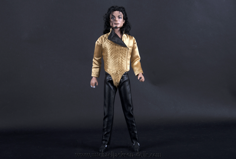 Michael Jackson doll Dangerous Tour