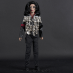 Michael Jackson doll Dinner jacket
