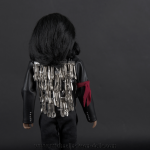 Michael Jackson doll Dinner jacket back side close up