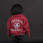 Michael Jackson doll Doo Doo jacket back side close up