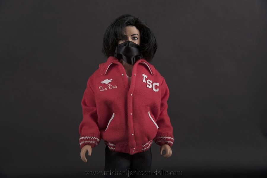 Michael Jackson doll Doo Doo jacket close up