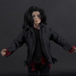 Michael Jackson doll Earth Song close up