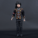 Michael Jackson doll Flame jacket