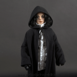 Michael Jackson doll Ghosts with cape close up