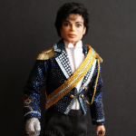Michael Jackson doll Grammy Awards 1984 close up