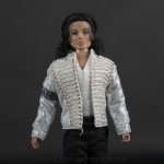 Michael Jackson doll History close up