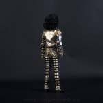 Michael Jackson doll History tour backside