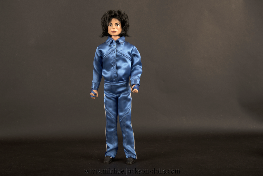 Michael Jackson doll Invincible signing session