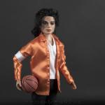 Michael Jackson doll JAM close up
