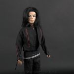 Michael Jackson doll Neverland party 2003 close up