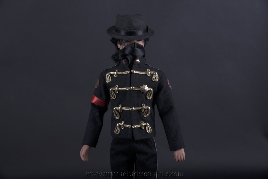 Michael Jackson doll Poland visit outfit close up