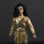Michael Jackson doll Remember The Time close up