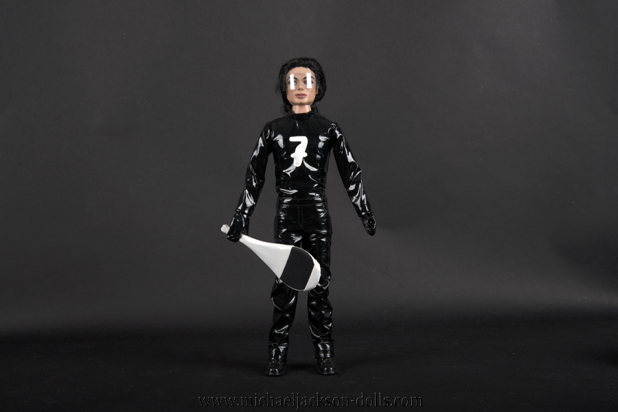 Michael Jackson doll Scream black outfit