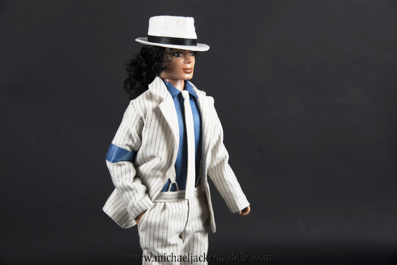 Michael Jackson doll Smooth Criminal close up