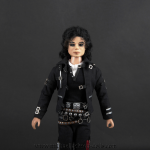 Michael Jackson doll Speed Demon close up