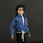 Michael Jackson doll The Way You Make Me Feel close up