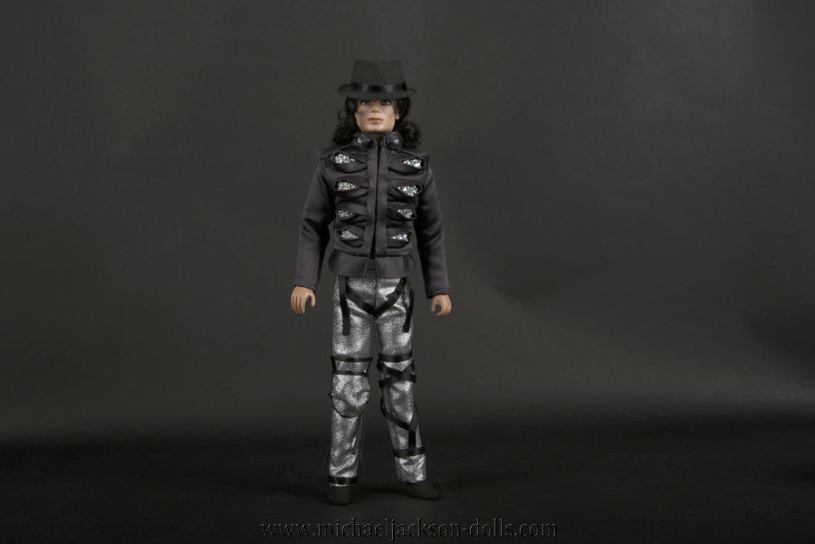 Michael Jackson doll This is It Man in the Mirror
