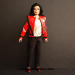 Michael Jackson doll This is It Thriller
