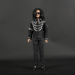 Michael Jackson doll This is It pressconference