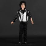 Michael Jackson doll Thriller rehearsal jacket